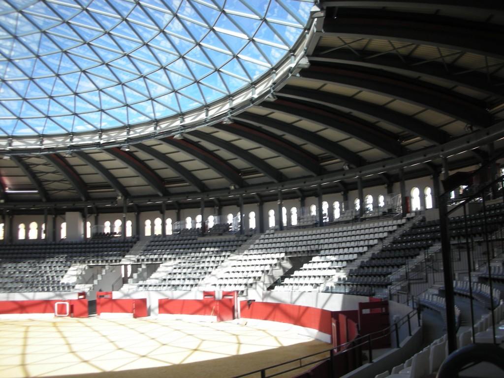 Plaza de Toros cubierta de Villena. Instalación de climatización