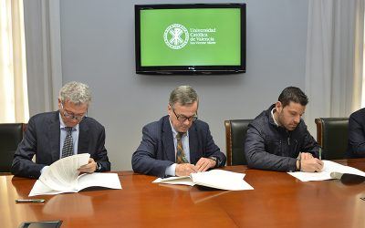 Nace la cátedra Germanía/Grupo Schréder-Socelec de eficiencia energética