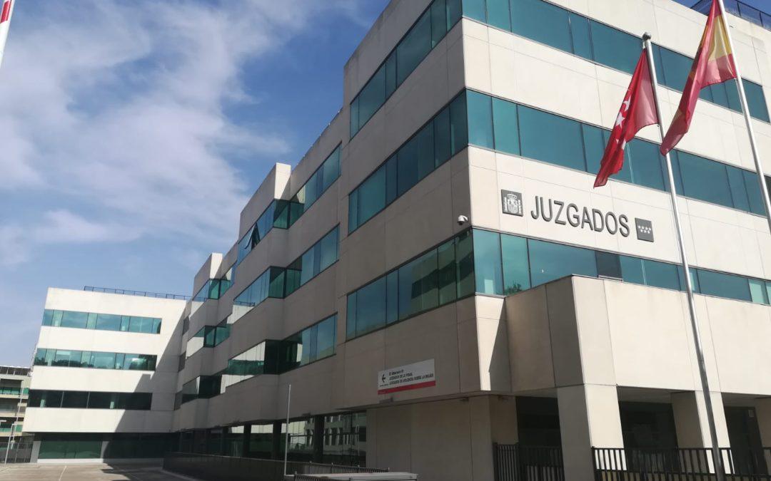 Germania se encargará del mantenimiento de la sede de los Juzgados de lo Penal en Madrid