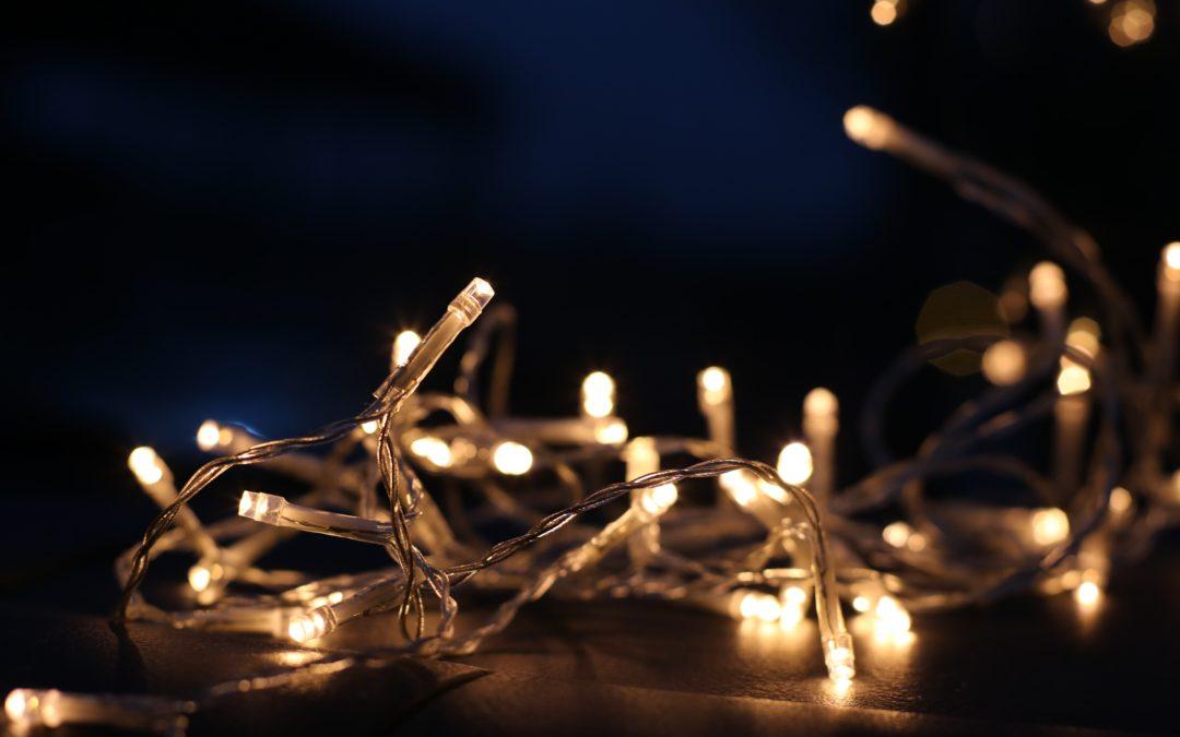 La iluminación en Navidad también debe ser sostenible