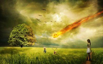 Cambio climático: meteorito en rumbo de colisión con la Tierra