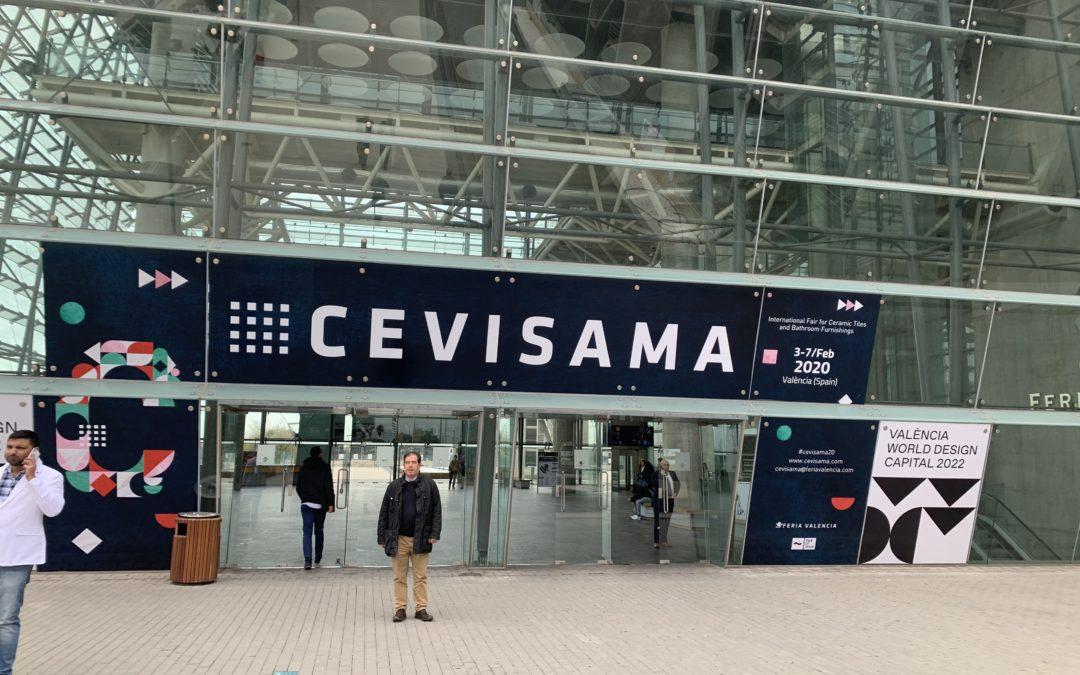 Presentes en Cevisama con nuestros proyectos fotovoltaicos