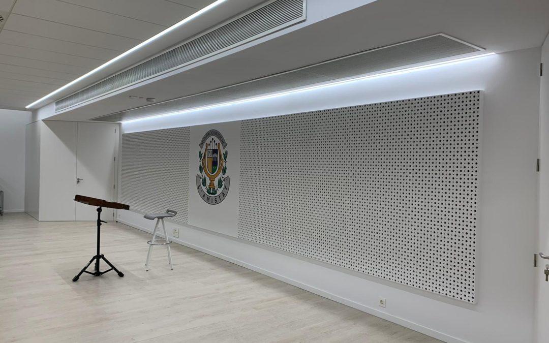 Así es un edificio sostenible: la nueva sede de La Agrupación Musical L'Amistat de Quart de Poblet