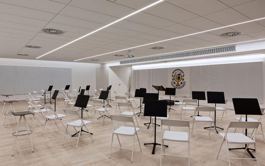 La colaboración de Germanía con el estudio 8b arquitectura para construir el primer edificio educativo Passivhaus de la Comunidad Valenciana