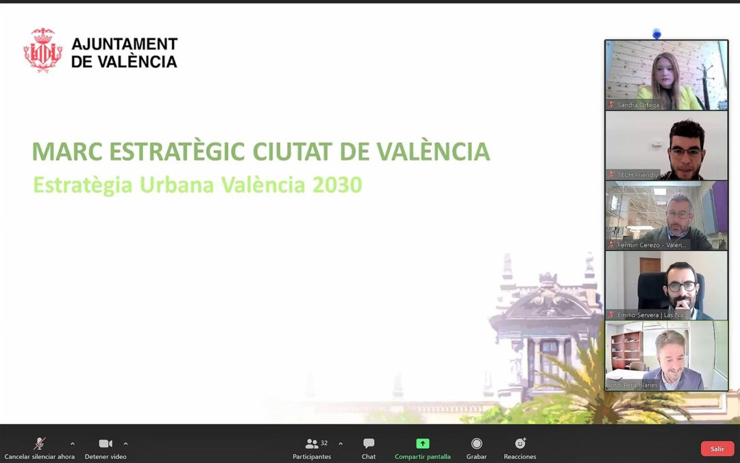 """Participamos en la jornada """"Construyendo la Valencia del Futuro"""" sobre cambio climático"""